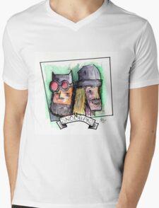 Snoogans before Noogans Mens V-Neck T-Shirt