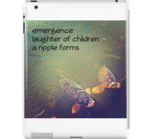 something fishy iPad Case/Skin