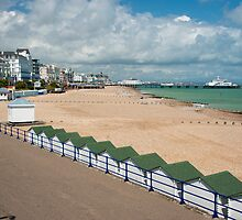 Eastbourne Beach - Sussex England by DonDavisUK