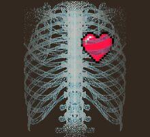 Xray Gamer Heart Unisex T-Shirt