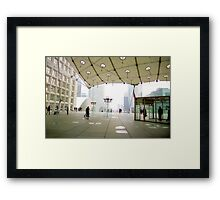Modern Paris Framed Print