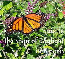 monarch bloom by gatheringwonder