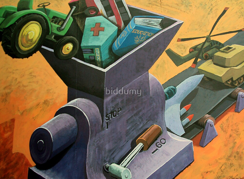 The Price of War by biddumy