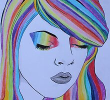 Rainbow Girl by Feagaer