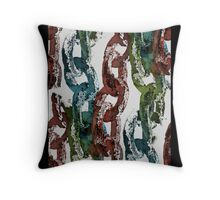 Missing Link.. Throw Pillow