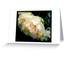King of Flowers Greeting Card