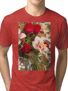 handmade wax flowers Tri-blend T-Shirt
