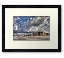 Beach Skies Treasure Island Florida Framed Print