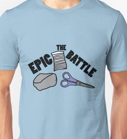 The Epic Battle Unisex T-Shirt
