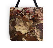 leaf background Tote Bag