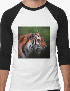A Leader - Siberian Tiger Art Men's Baseball ¾ T-Shirt
