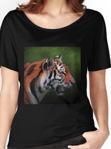 A Leader - Siberian Tiger Art Women's Relaxed Fit T-Shirt