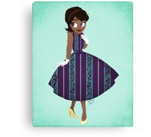Girl of New Orleans Canvas Print