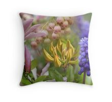 Foral Montage Series No.15 Throw Pillow