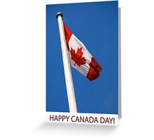 Canada Day Card Greeting Card