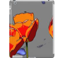 tulip in spring iPad Case/Skin