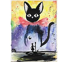 Kiki's Delivery Service Illustration Photographic Print