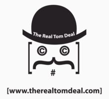 therealtomdeal logo One Piece - Short Sleeve