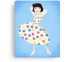 Toon Girl Canvas Print