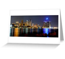 Detroit, Michigan Greeting Card