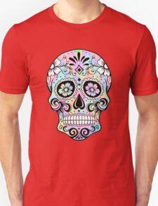 Sugar Skull Rainbow Unisex T-Shirt