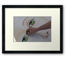 Eye Create! Framed Print