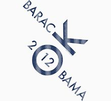 OK Obama 2012 Womens Fitted T-Shirt