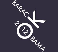 OK Obama - White Text Unisex T-Shirt