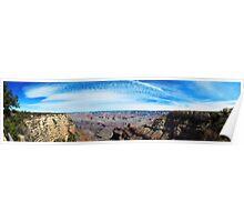 South Rim Grand Canyon Pano Poster