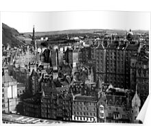 old town , edinburgh Poster