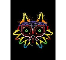 Majora's Splat~ Photographic Print