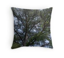 Branched Thought Throw Pillow