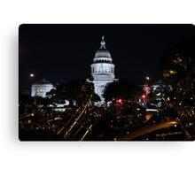 Austin ROT Rally Canvas Print