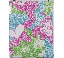 Psychedelic Heart Doodle iPad Case/Skin