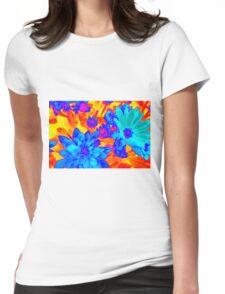 chrysanthemum in the garden Womens Fitted T-Shirt