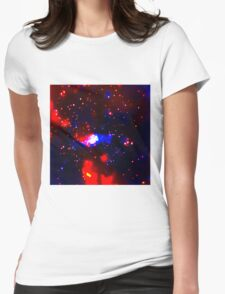 Cosmic Bokeh Womens Fitted T-Shirt
