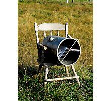 Rocking Chair Mailbox Photographic Print
