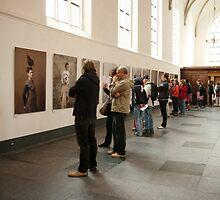 Photo exhibition in Grote Kerk, Naarden by steppeland