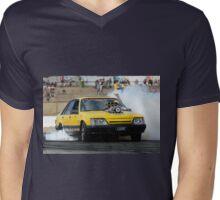 LSONE Burn Out UBC6 Mens V-Neck T-Shirt