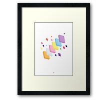 My Little Pony - Mane Six Abstraction II Framed Print