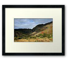 Colours of Glenlough Framed Print