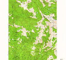 USGS Topo Map Oregon Eagle Cap 282440 1954 62500 by wetdryvac