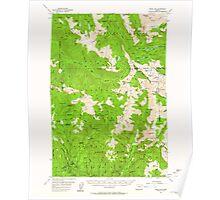 USGS Topo Map Oregon Eagle Cap 282440 1954 62500 Poster