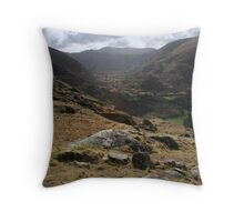 The road to Esknamaggy Throw Pillow