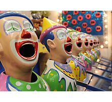 Hungry Clowns Photographic Print