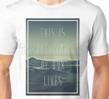 Marianas Trench While We're Young Lyric Unisex T-Shirt