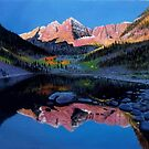 MAROON BELLS AT DOWN  by Aziz Mohammed