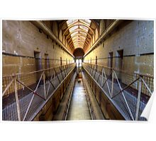 Old Melbourne Gaol Poster