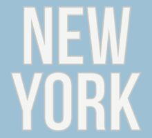 NEW YORK - Typography by aditmawar