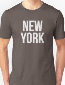NEW YORK - Typography T-Shirt